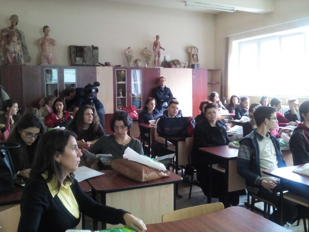 Dezbatere elevi Colegiul National Ana Aslan